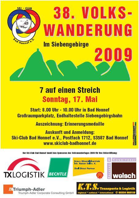 Plakat 7 auf einen Streich 2009